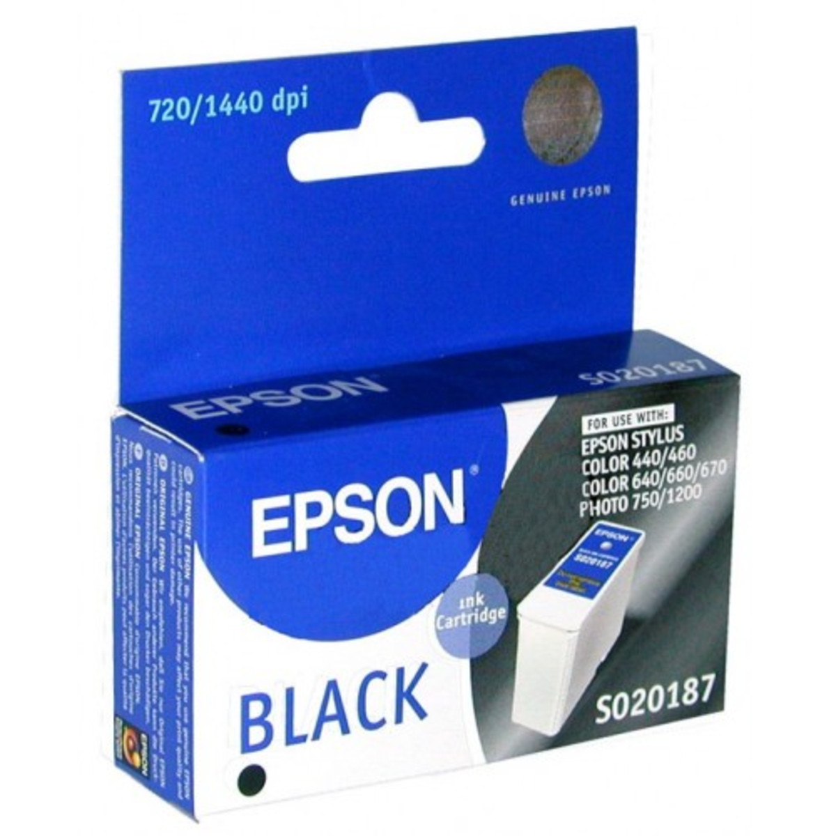 Epson T050190 Black Ink Cartridge - Exp 2014