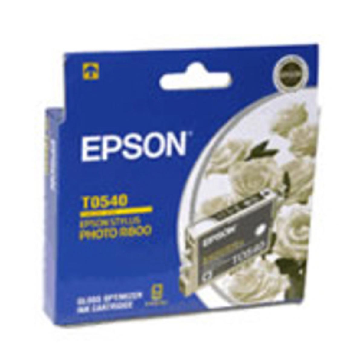Epson T054090 Gloss Optimiser Ink Cartridge