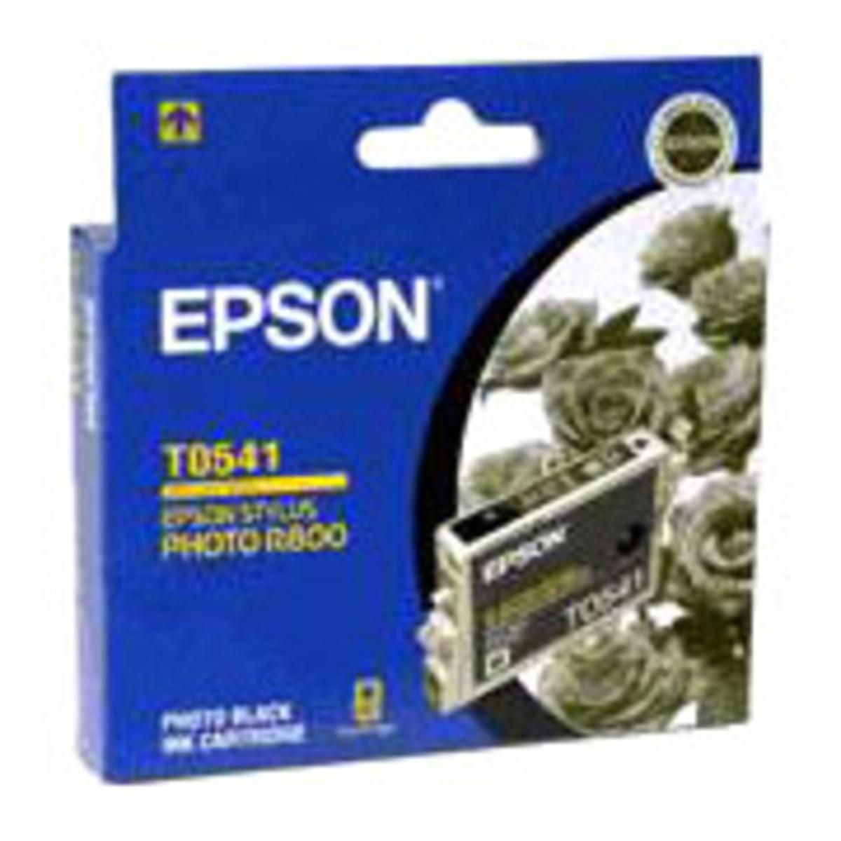 Epson T054190 Photo Black Ink Cartridge