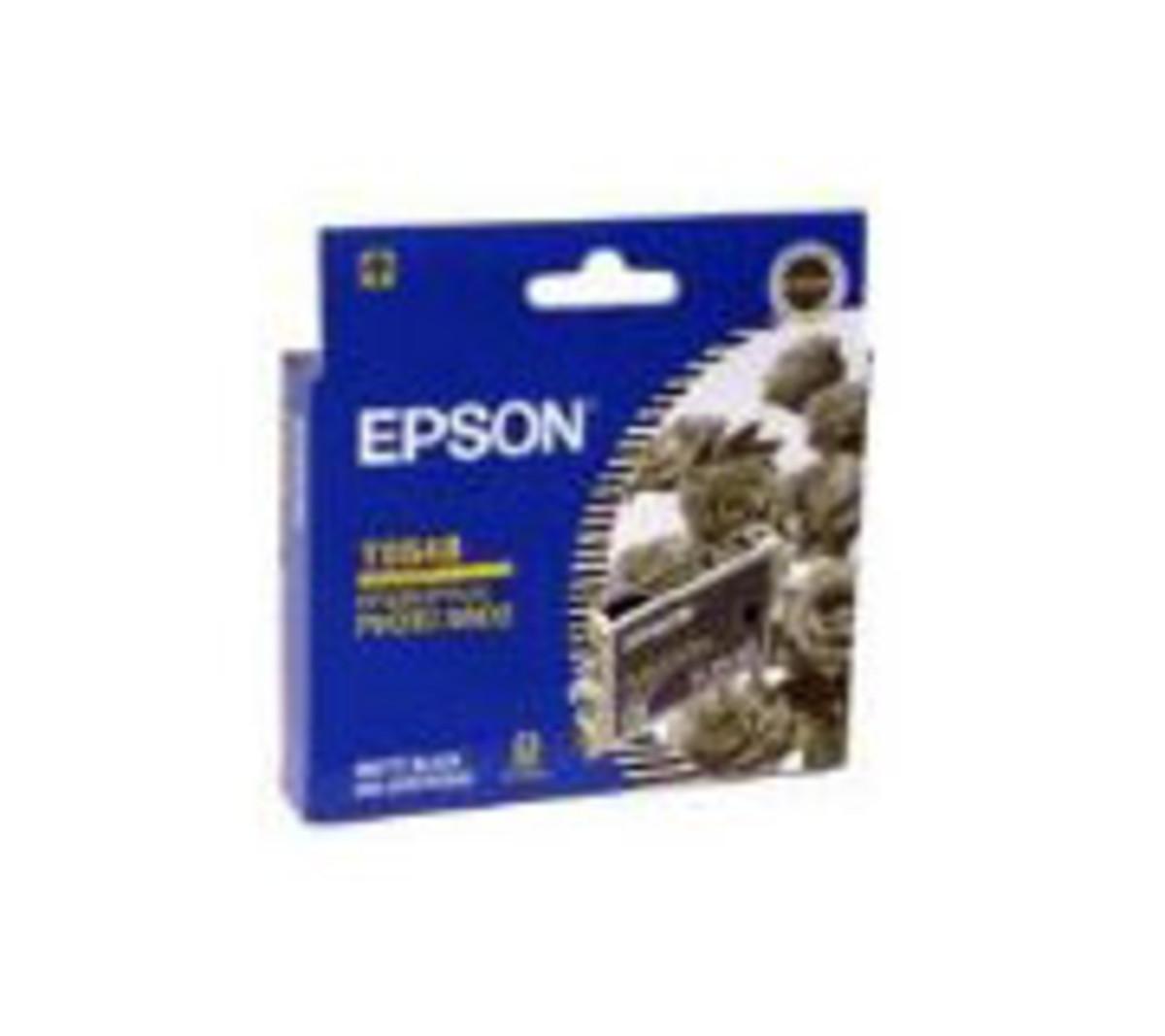 Epson T054890 Matte Black Ink Cartridge