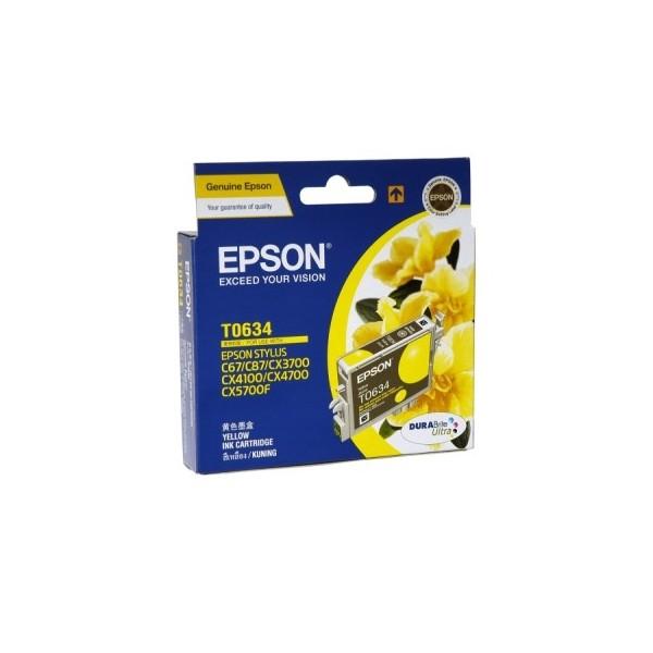 Epson T0634 Yellow Ink Cartridge (Original)