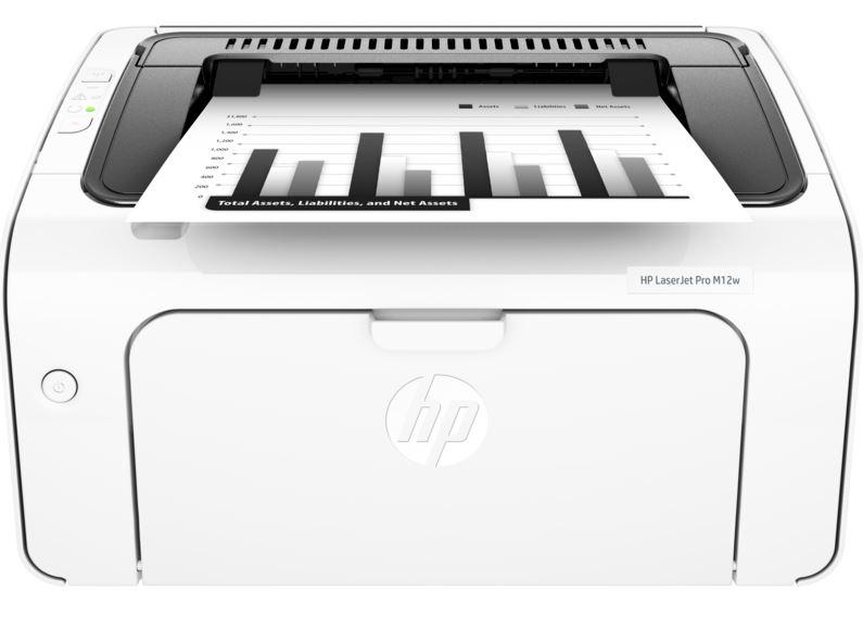 HP LaserJet Pro M12w Mono Laser Printer