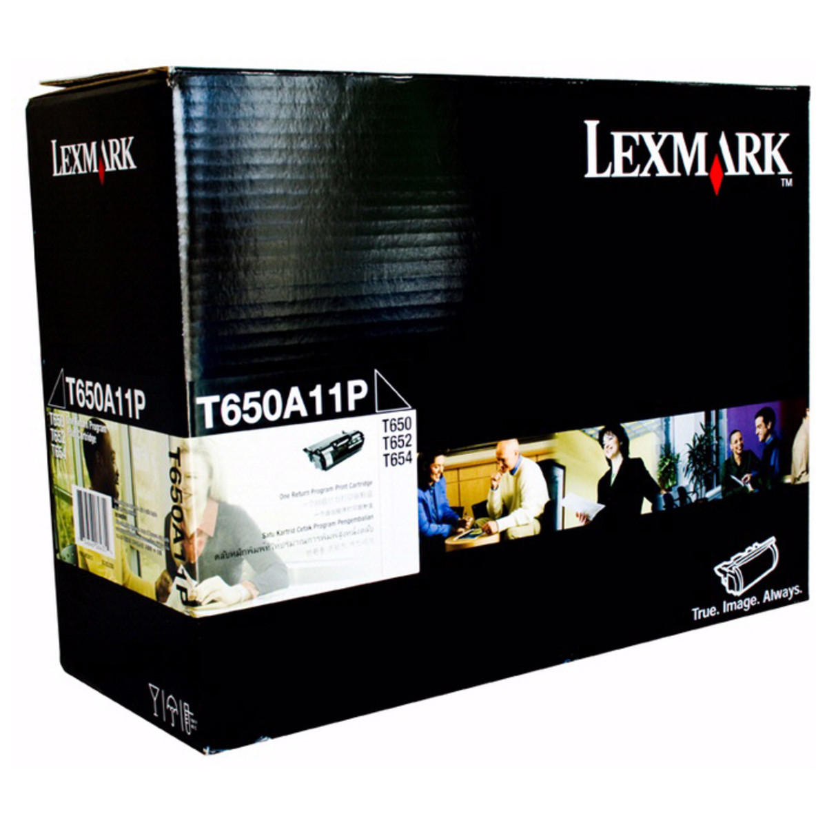 Lexmark TT650A11P Black Prebate Toner Cartridge