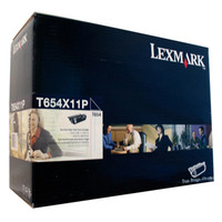 Lexmark T654X11P Black Prebate Toner Cartridge