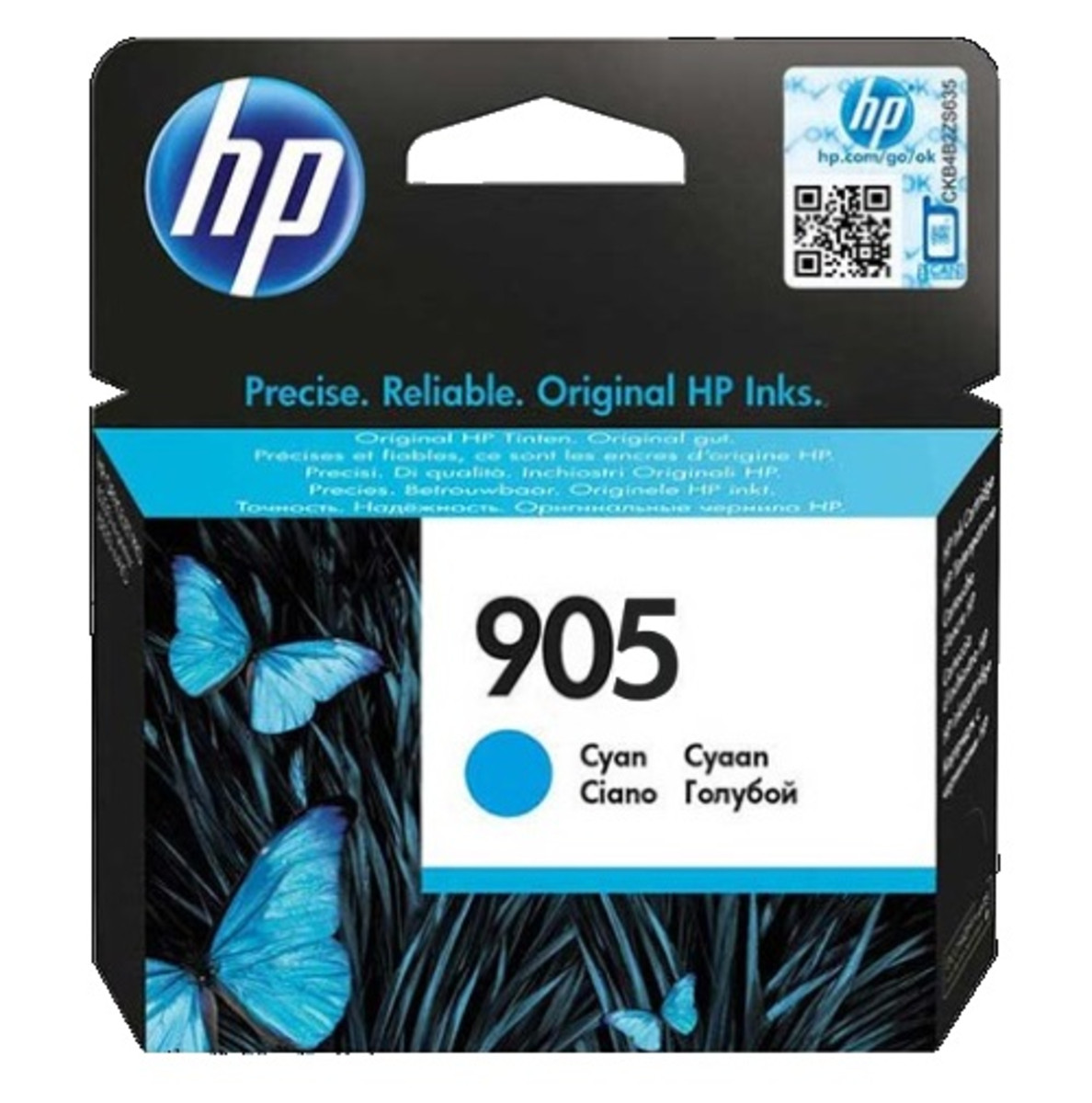 HP 905 (T6L89AA) Cyan Ink Cartridge
