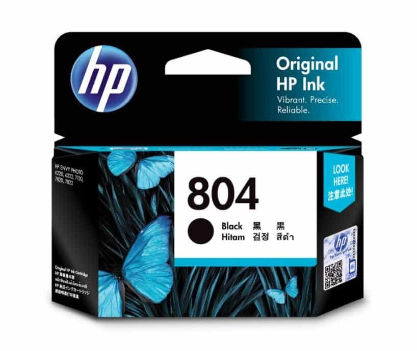 HP 804 Black Ink Cartridge (Original)
