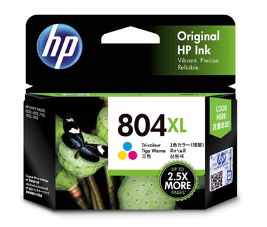 HP 804XL Tri-Colour Ink Cartridge (Original)