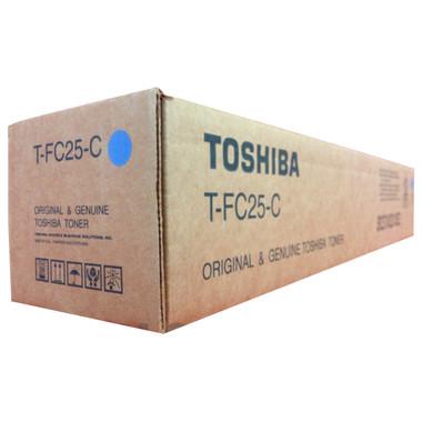 Toshiba TFC25C Cyan Toner Cartridge