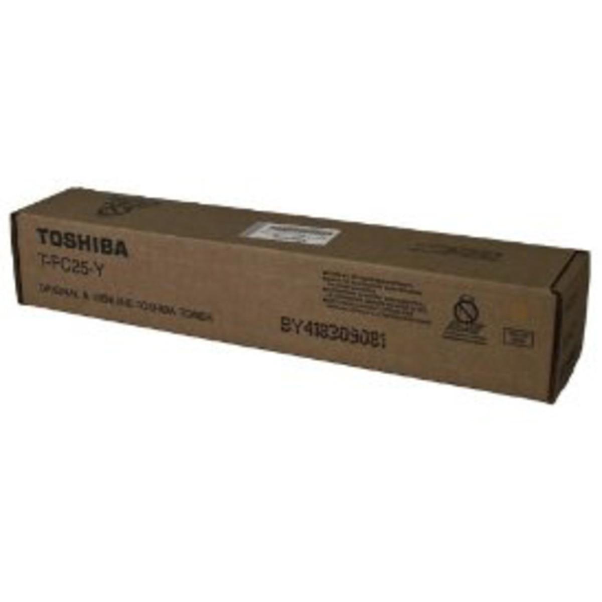 Toshiba TFC25Y Yellow Toner Cartridge