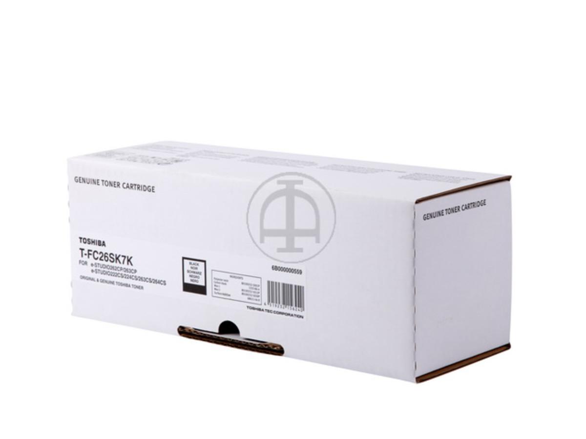 Toshiba TFC26SK Black Toner Cartridge