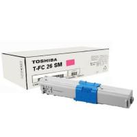 Toshiba TFC26SM Magenta Toner Cartridge