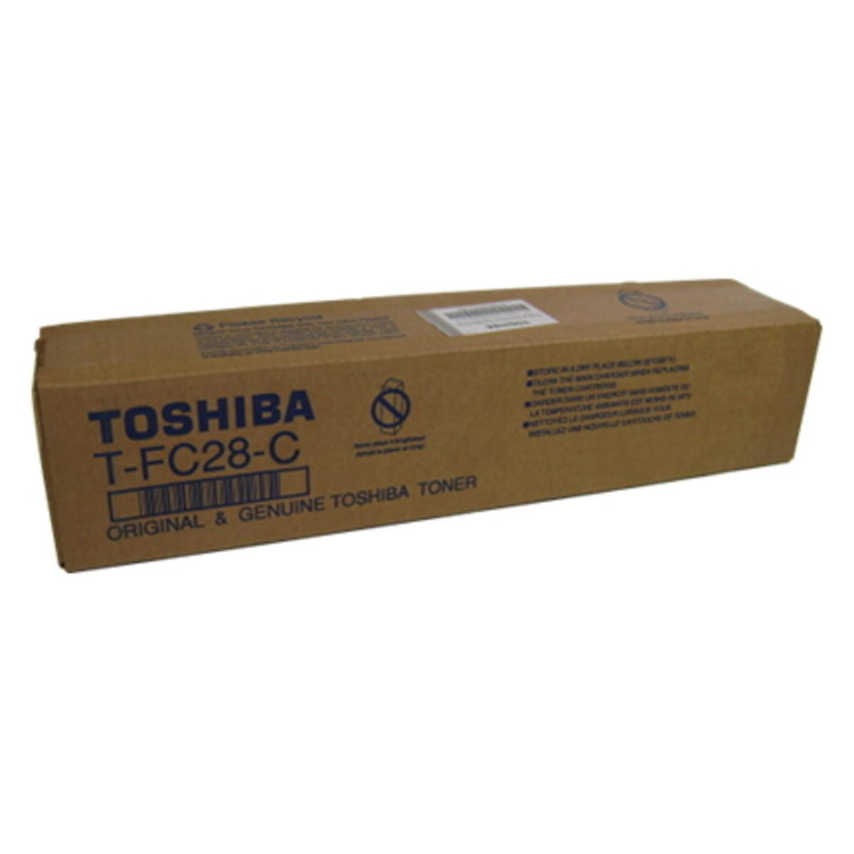 Toshiba TFC28C Cyan Toner Cartridge