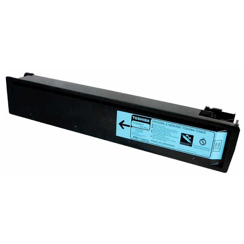Toshiba TFC35 Cyan Toner Cartridge (Original)