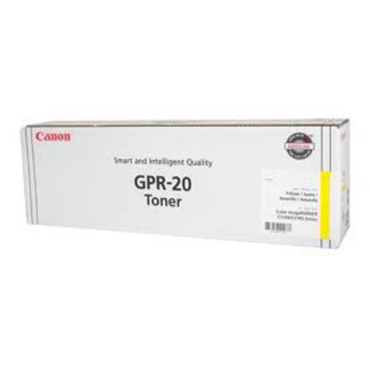 Canon GPR-20 Yellow Toner Cartridge