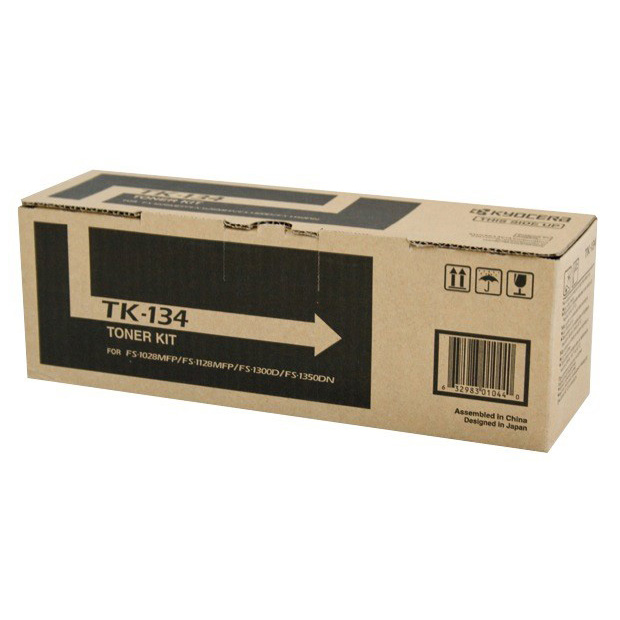 Kyocera TK134 Black Toner Cartridge (Original)
