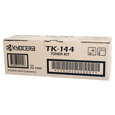 Kyocera TK144 Black Toner Cartridge (Original)