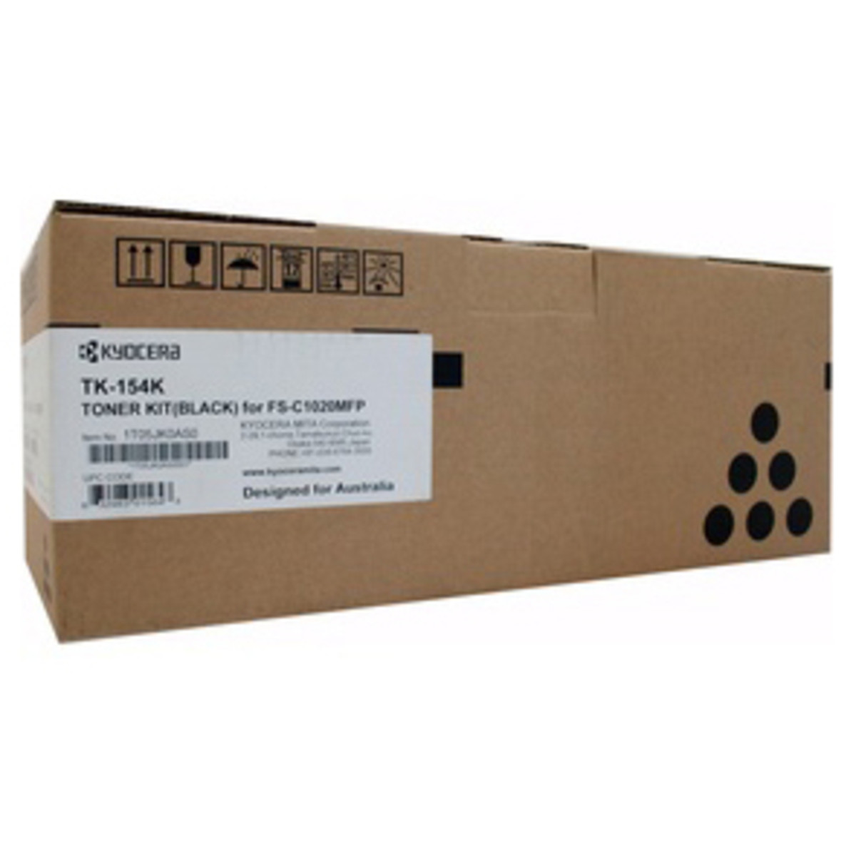 Kyocera TK-154K Black Toner Cartridge