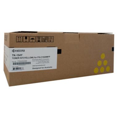 Kyocera TK154 Yellow Toner Cartridge (Original)