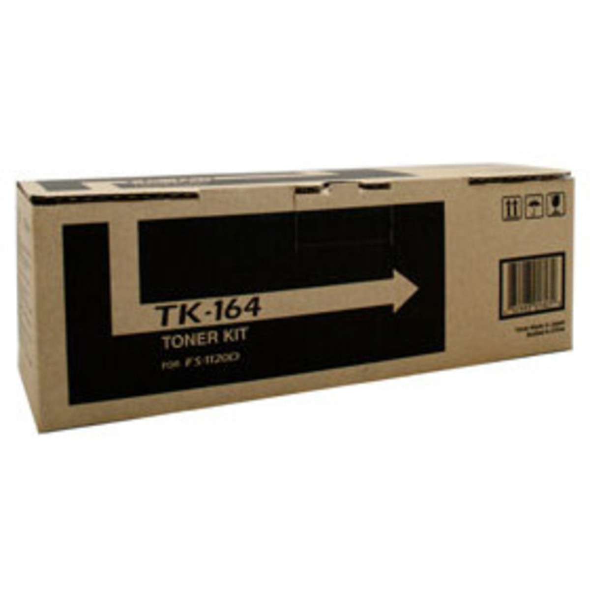 Kyocera TK-164 Black Toner Cartridge