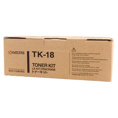 Kyocera TK18 Black Toner Cartridge (Original)