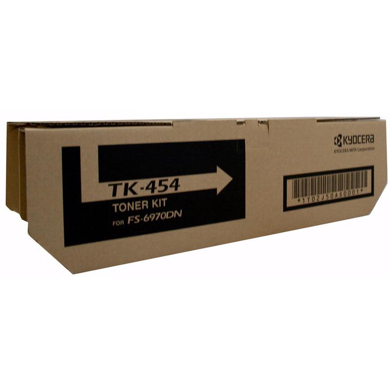 Kyocera TK454 Black Toner Cartridge (Original)