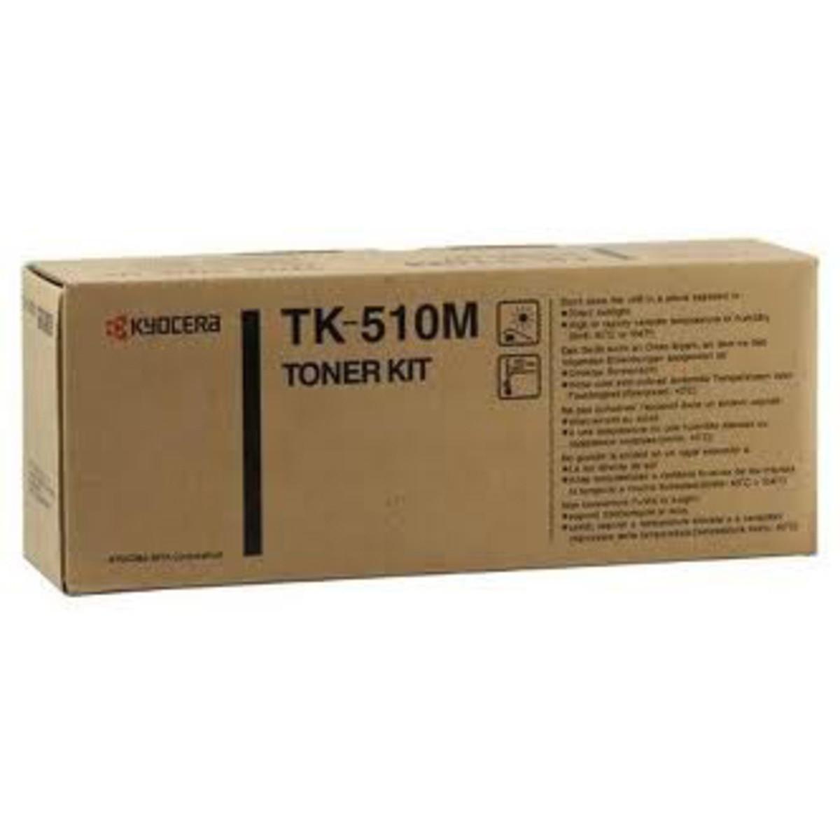 Kyocera TK-510M Magenta Toner Cartridge