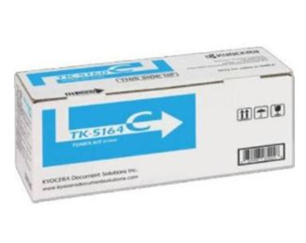 Kyocera (TK-5164C) Cyan Toner Cartridge