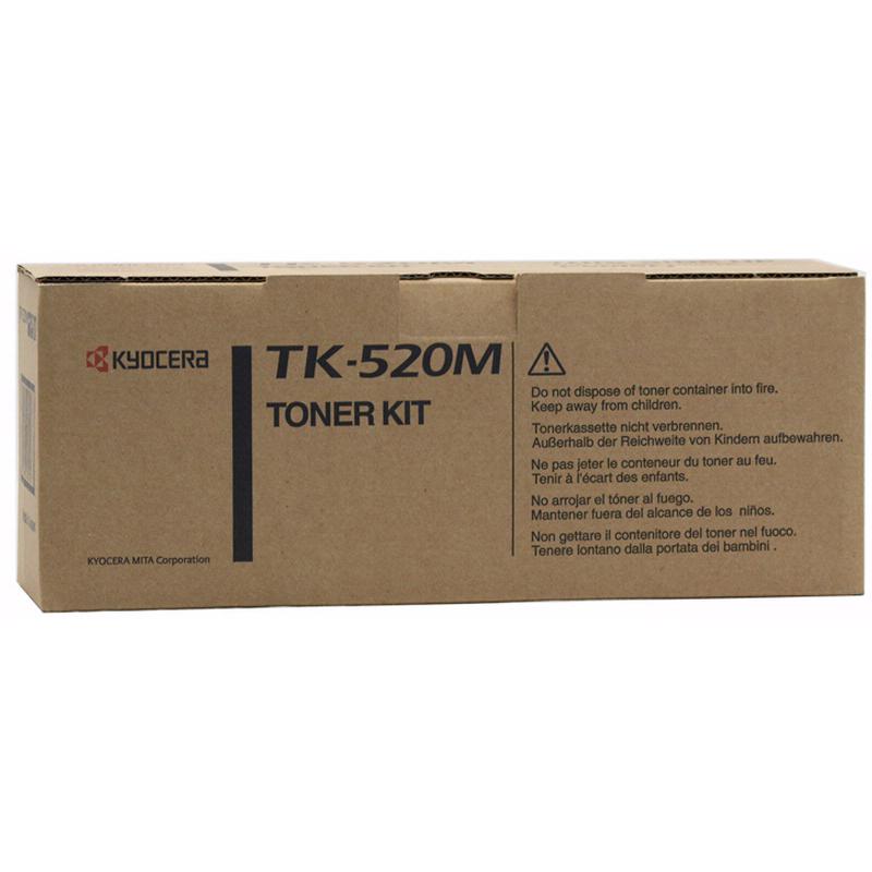 Kyocera TK520 Magenta Toner Cartridge (Original)
