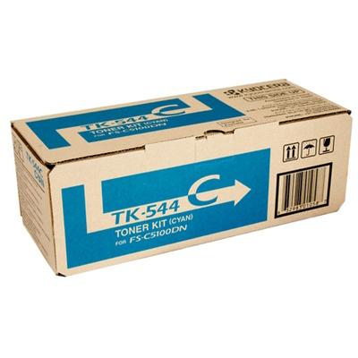 Kyocera TK544 Cyan Toner Cartridge (Original)