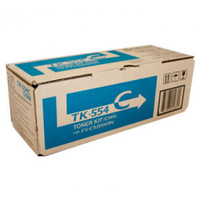 Kyocera TK-554C Cyan Toner Cartridge