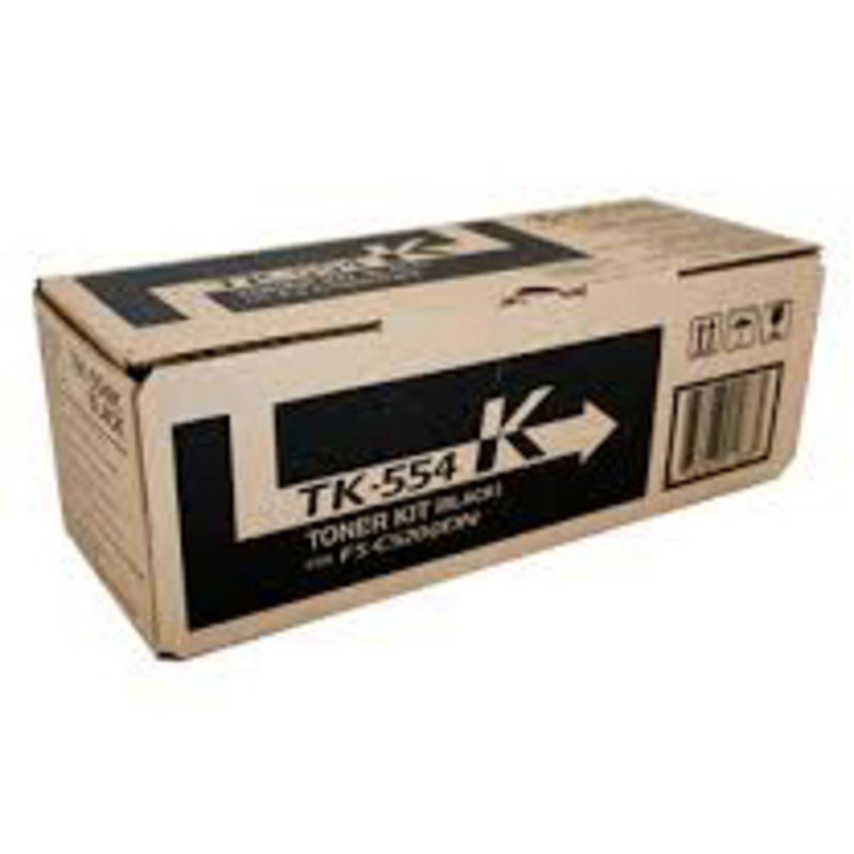 Kyocera TK-554K Black Toner Cartridge