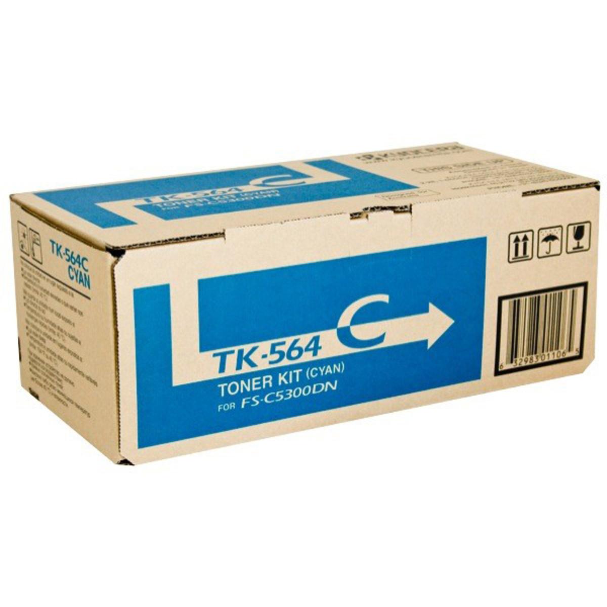 Kyocera TK-564C Cyan Toner Cartridge