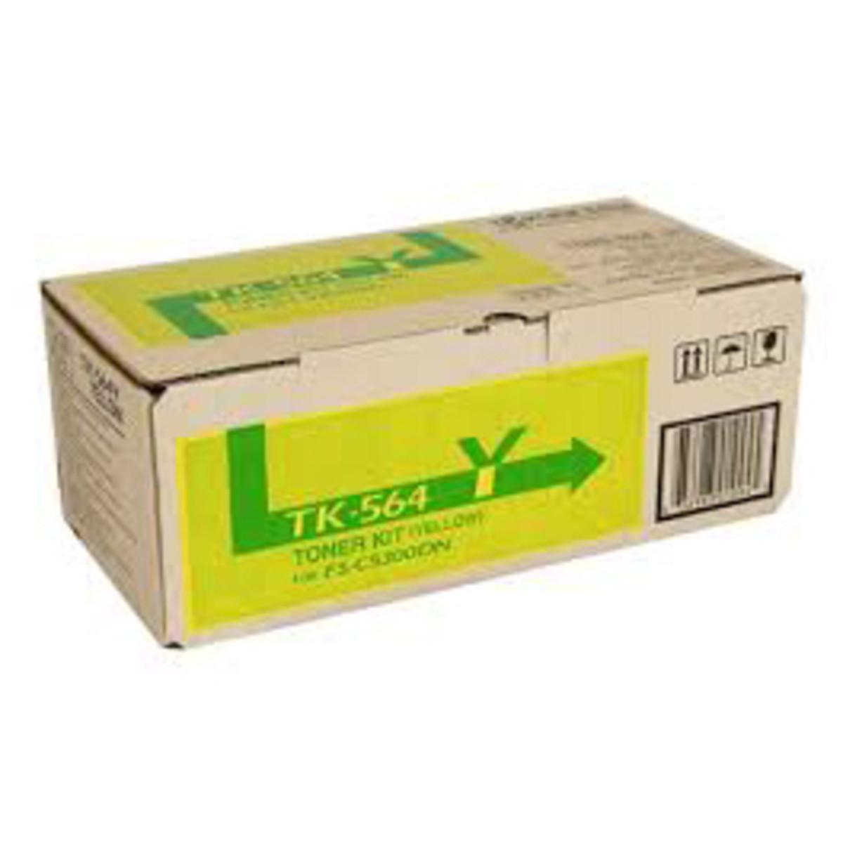 Kyocera TK-564Y Yellow Toner Cartridge