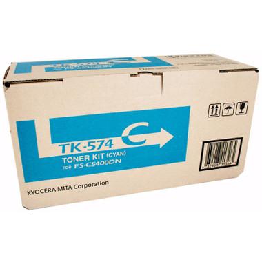 Kyocera TK574 Cyan Toner Cartridge (Original)