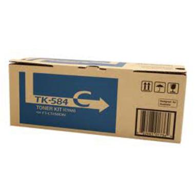 Kyocera TK584 Cyan Toner Cartridge (Original)