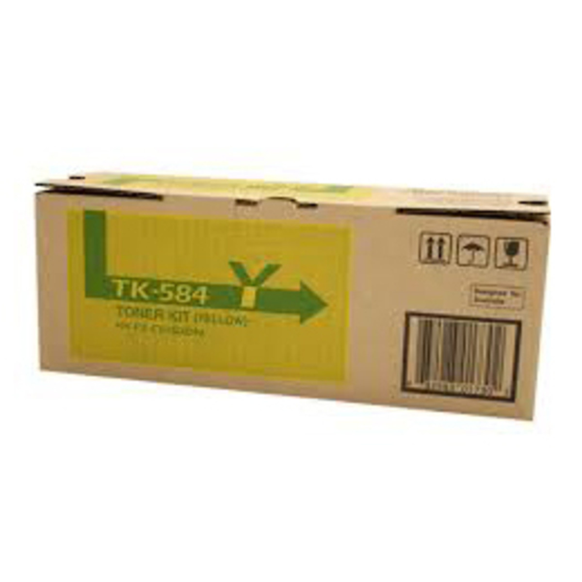 Kyocera TK-584Y Yellow Toner Cartridge