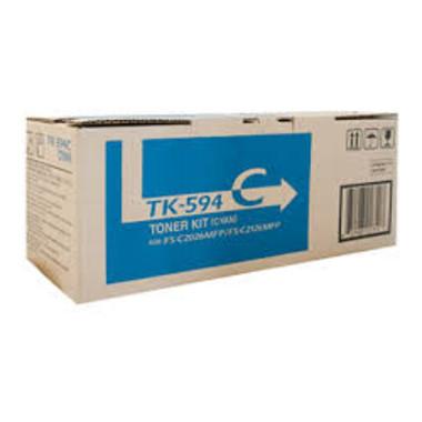 Kyocera TK594 Cyan Toner Cartridge (Original)