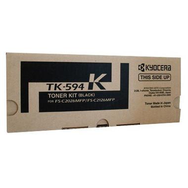Kyocera TK594 Black Toner Cartridge (Original)