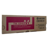 Kyocera TK594 Magenta Toner Cartridge (Original)