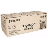 Kyocera TK-820C Cyan Toner Cartridge