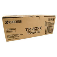 Kyocera TK-825Y Yellow Toner Cartridge
