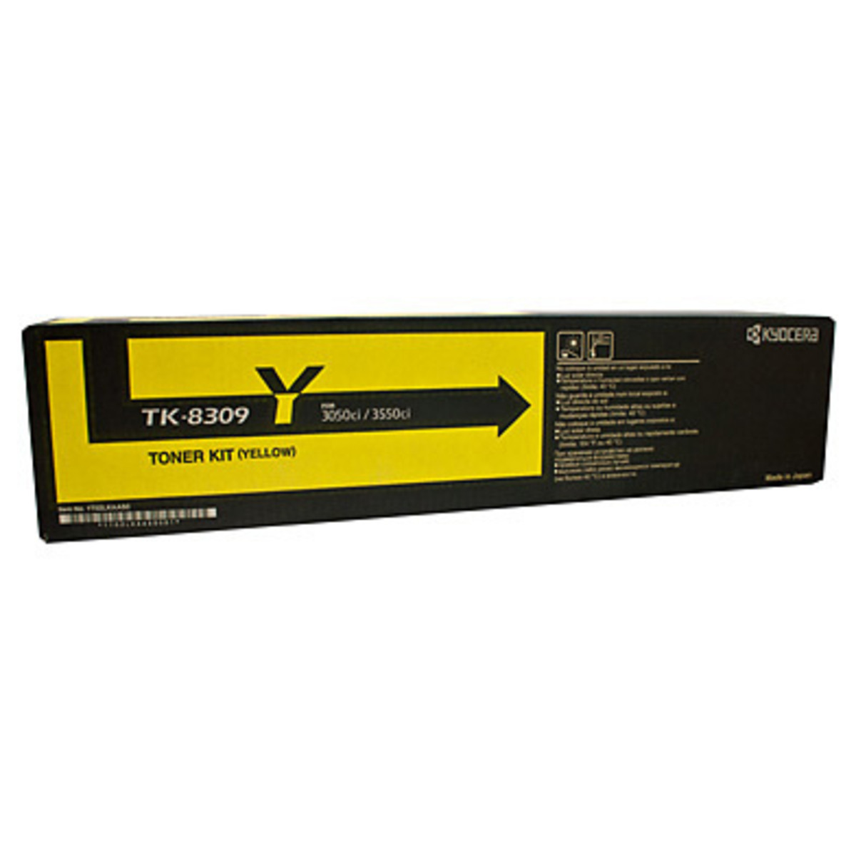Kyocera TK-8309Y Yellow Toner Cartridge