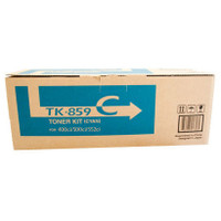 Kyocera TK-859C Cyan Toner Cartridge
