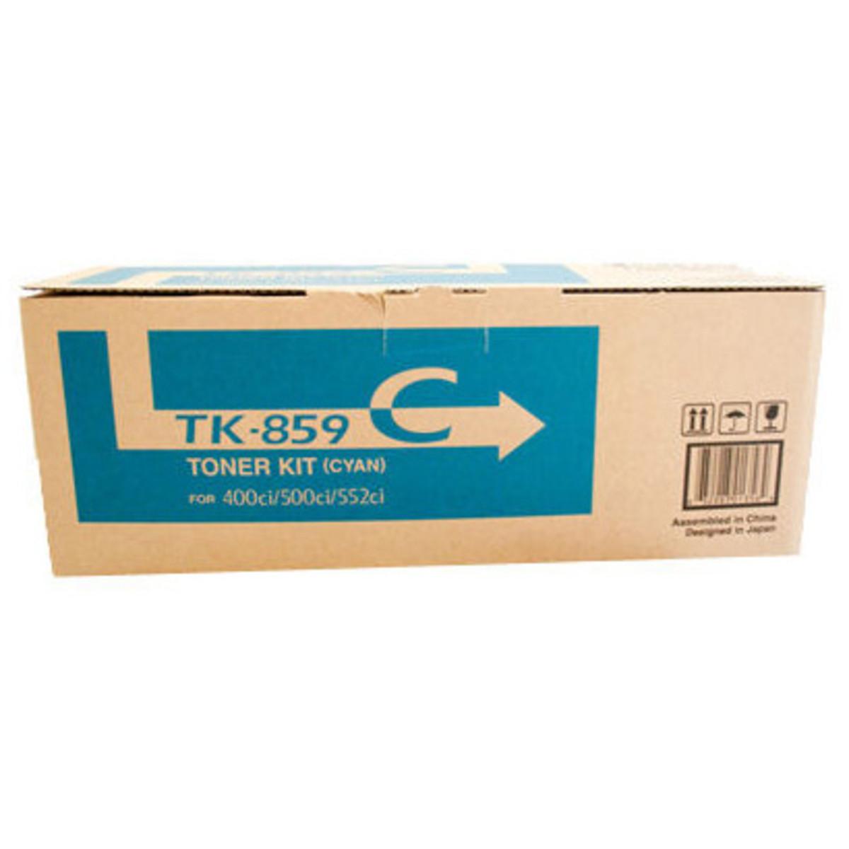 Kyocera TK-859C Cyan Toner Cartridge