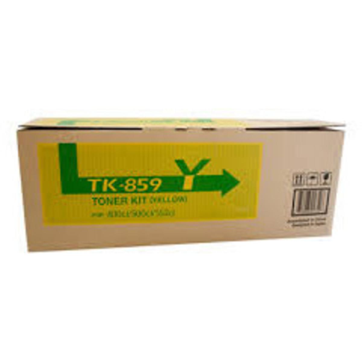 Kyocera TK-859Y Yellow Toner Cartridge