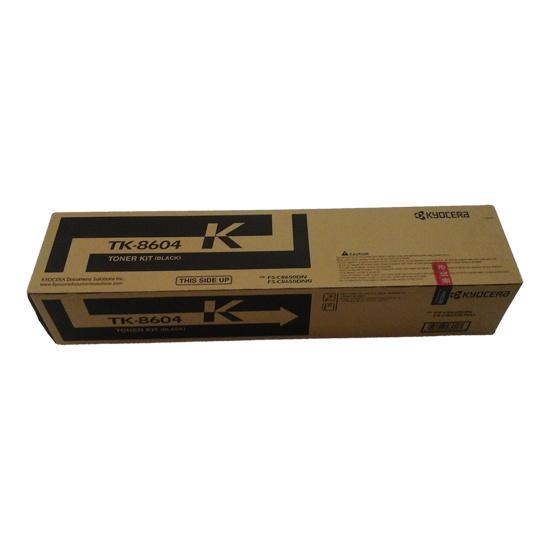 Kyocera TK8604 Black Toner Cartridge (Original)