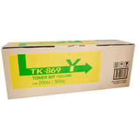 Kyocera TK-869Y Yellow Copier Cartridge