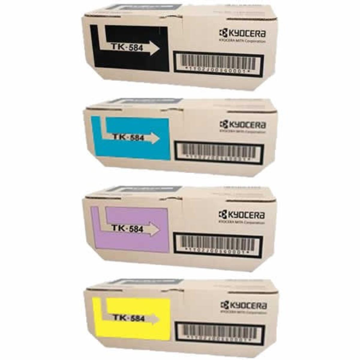 Kyocera TK-584 Bundle Pack