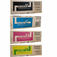 Kyocera Toner Cartridges Value Pack - Includes: [1 x Black, Cyan, Magenta, Yellow]