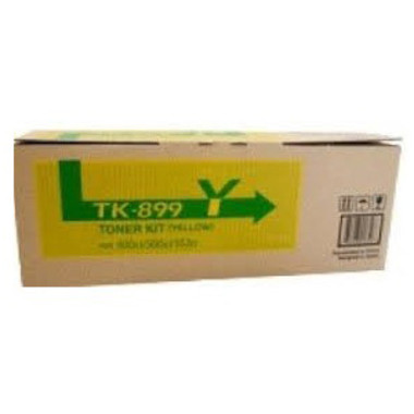 Kyocera TK-899Y Yellow Toner Cartridge